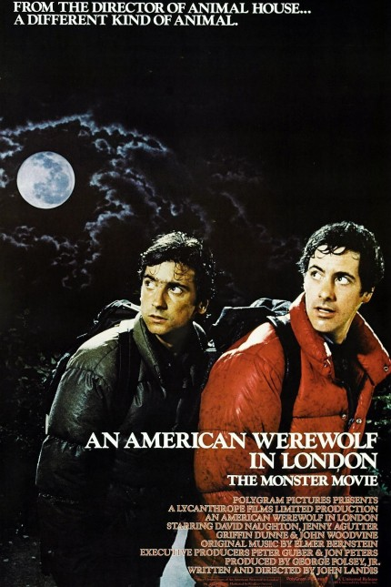 An American Werewolf in London (poster)