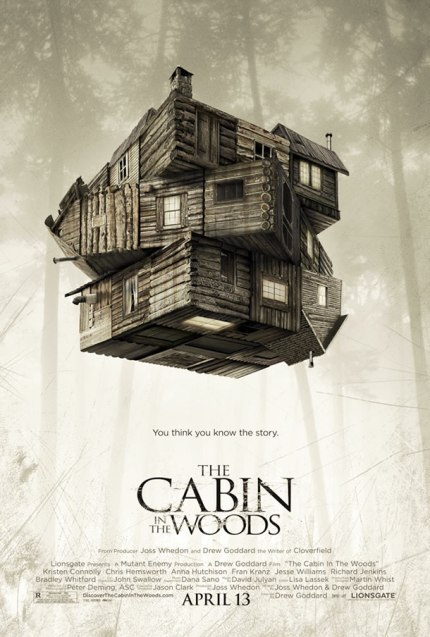 The Cabin in the Woods (poster)