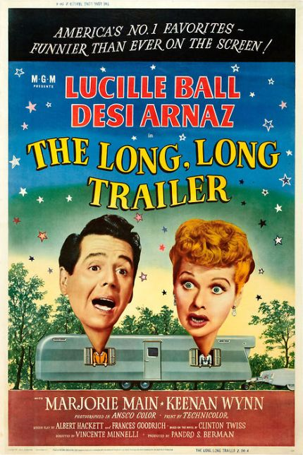 The Long, Long Trailer (poster)