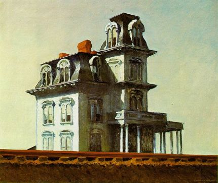 "Edward Hopper's ""House by the Railroad,"" another important visual influence on Days of Heaven"